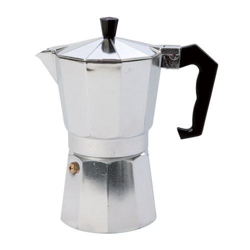 Espressomaker aluminium 9 kops