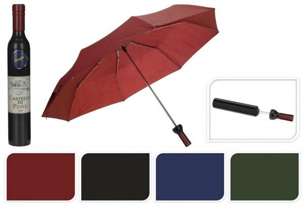Paraplu in wijnfles