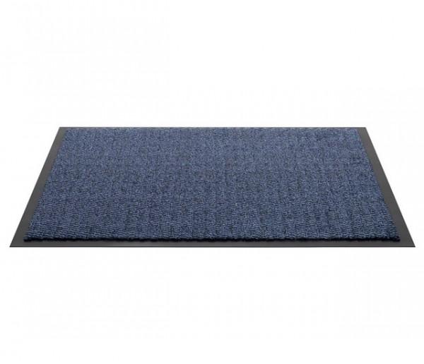 Spectrum schoonloopmat blauw 60x80cm