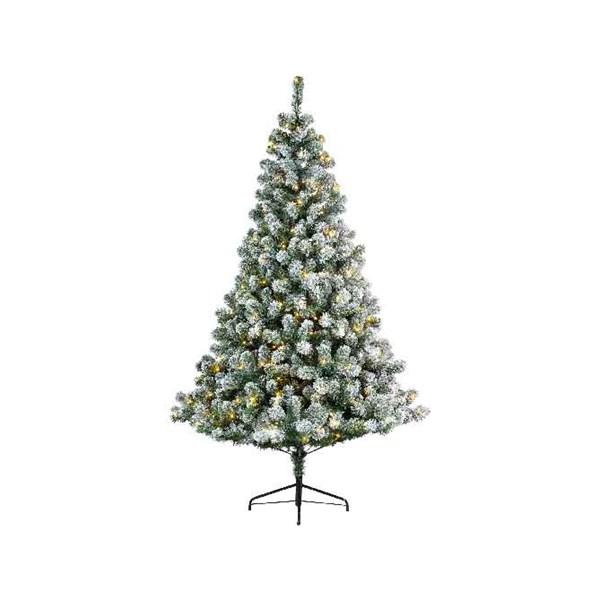 Image of everlands kunstkerstboom Imperial Pine snowy 180cm+LED 8719152783106