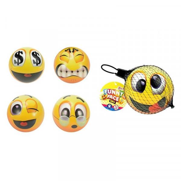 Toi Toys Funny face bal Ø9,5cm
