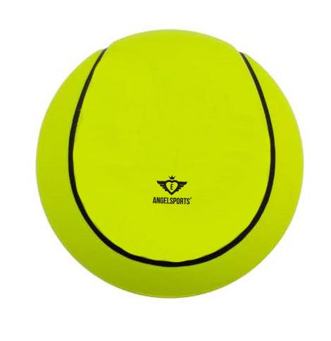 Soft foam tennisbal Ø12,5cm geel