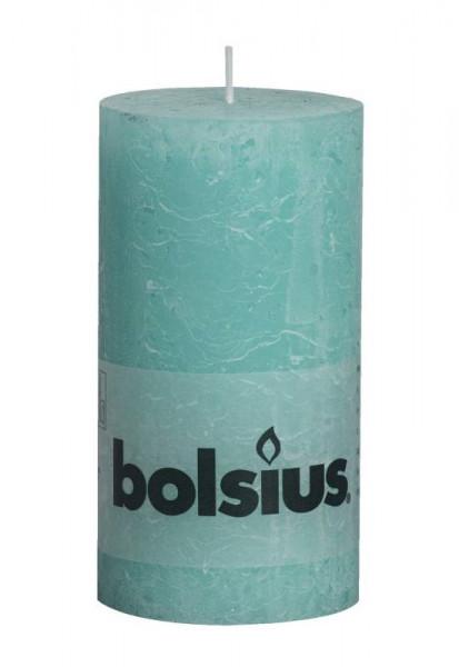 Bolsius rustiek stompkaars 130/68 ocean