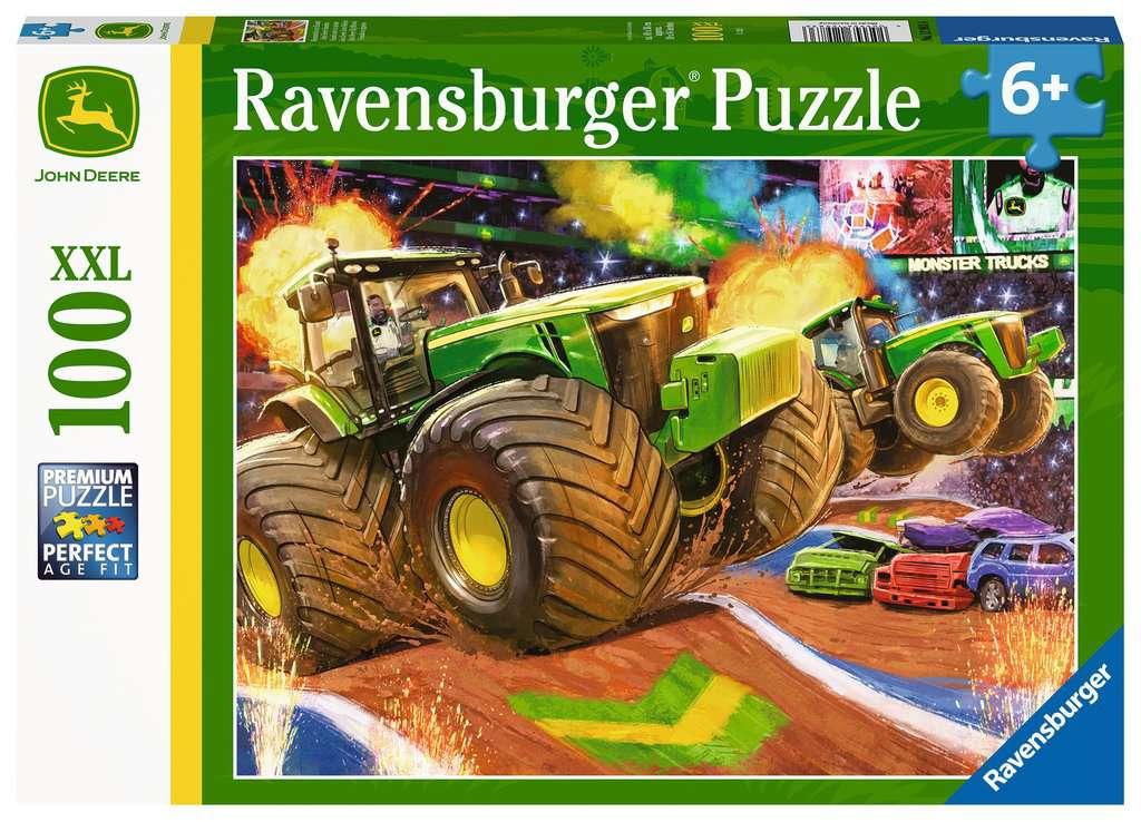 Ravensburger puzzel John Deere Wheel 100