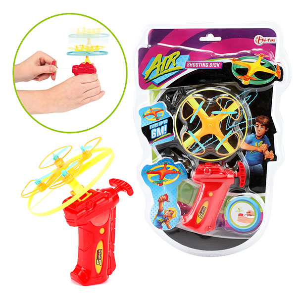 Image of Toi Toys Air Afschiet drone disc 8719904352826