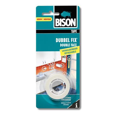 Bison Doublefix dubbelzijdig tape 1,5mtr