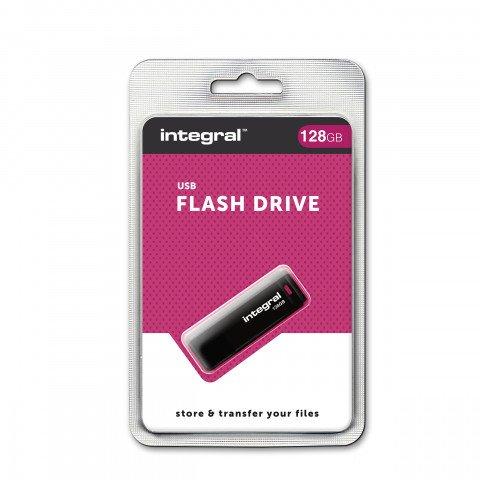Image of Integral USB stick 128GB zwart 5055288432918