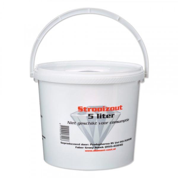 Strooizout 5L (7kg) in emmer