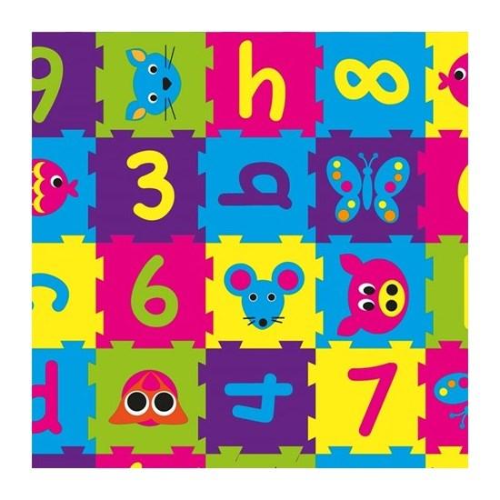 Toonbankrol 70cm kleuren cijfers 200m