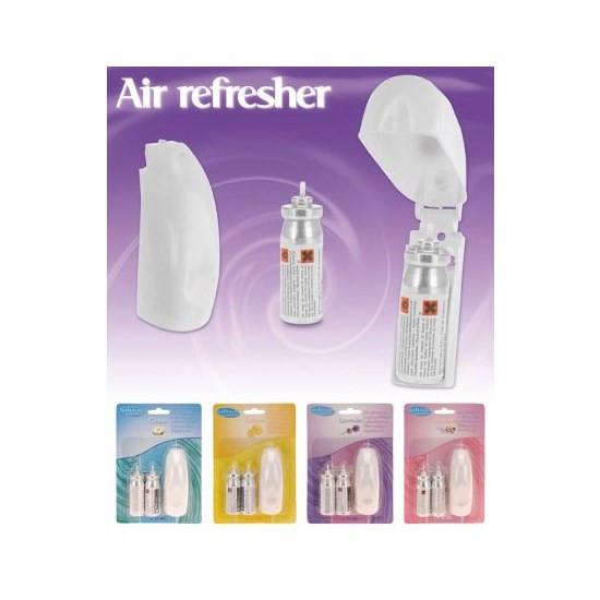Luchtverfrisser met 2 vullingen