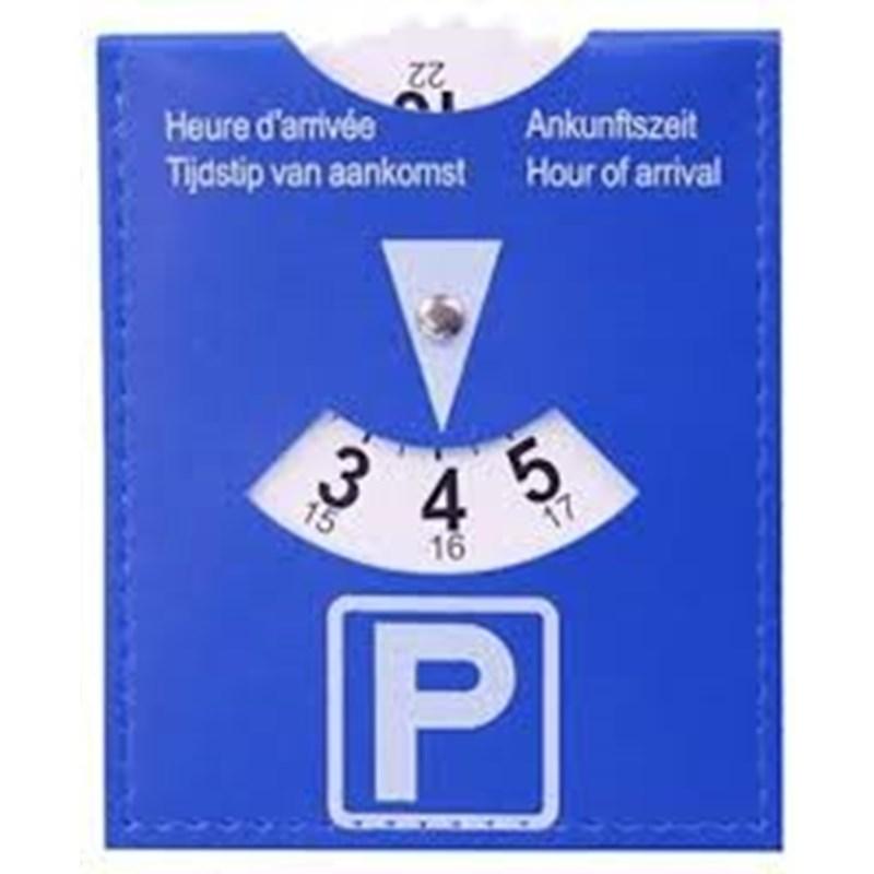 Parkeerschijf 15x11cm
