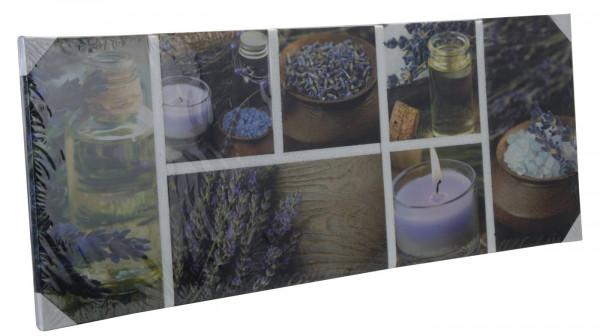 Schilderijset 8-delig Lavendel