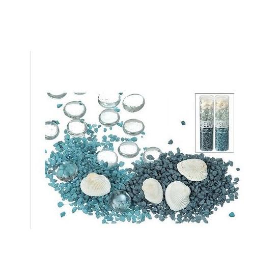 Zand/nest H20cm Steen blauw