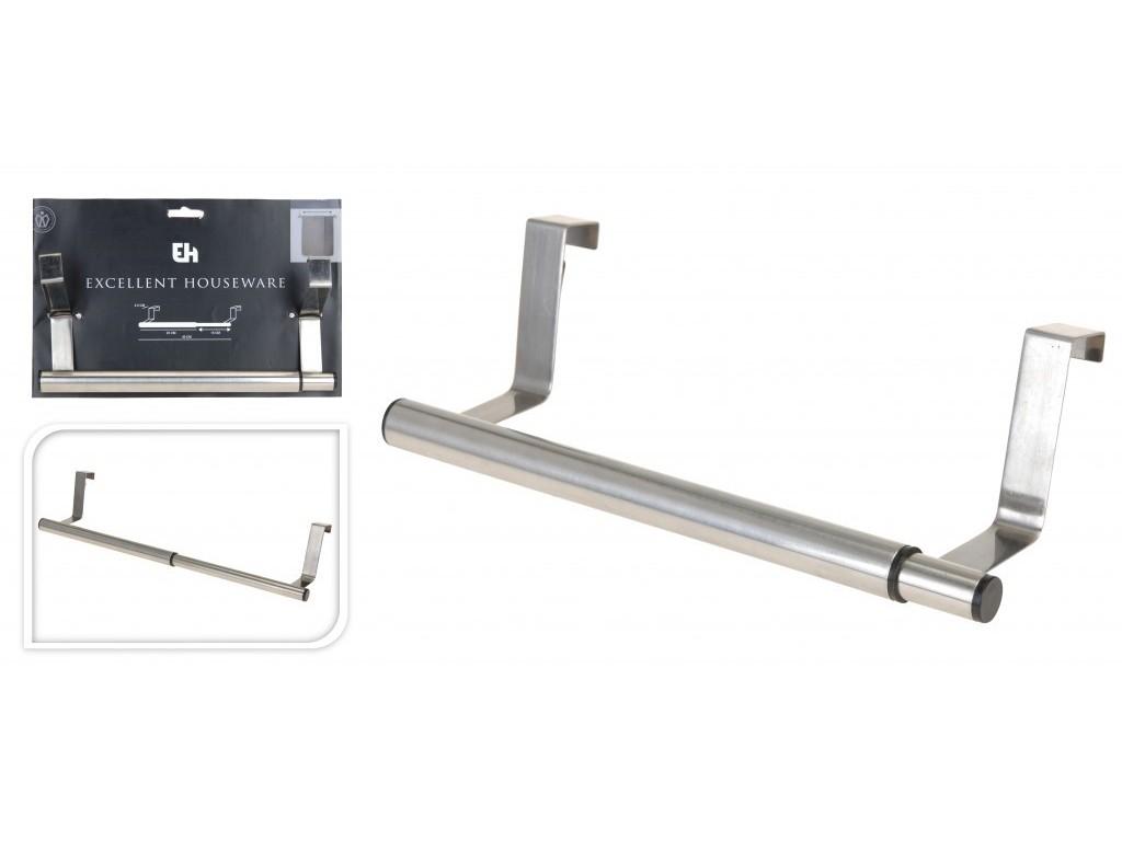 Deurhanger RVS uitschuifbaar 25-40cm