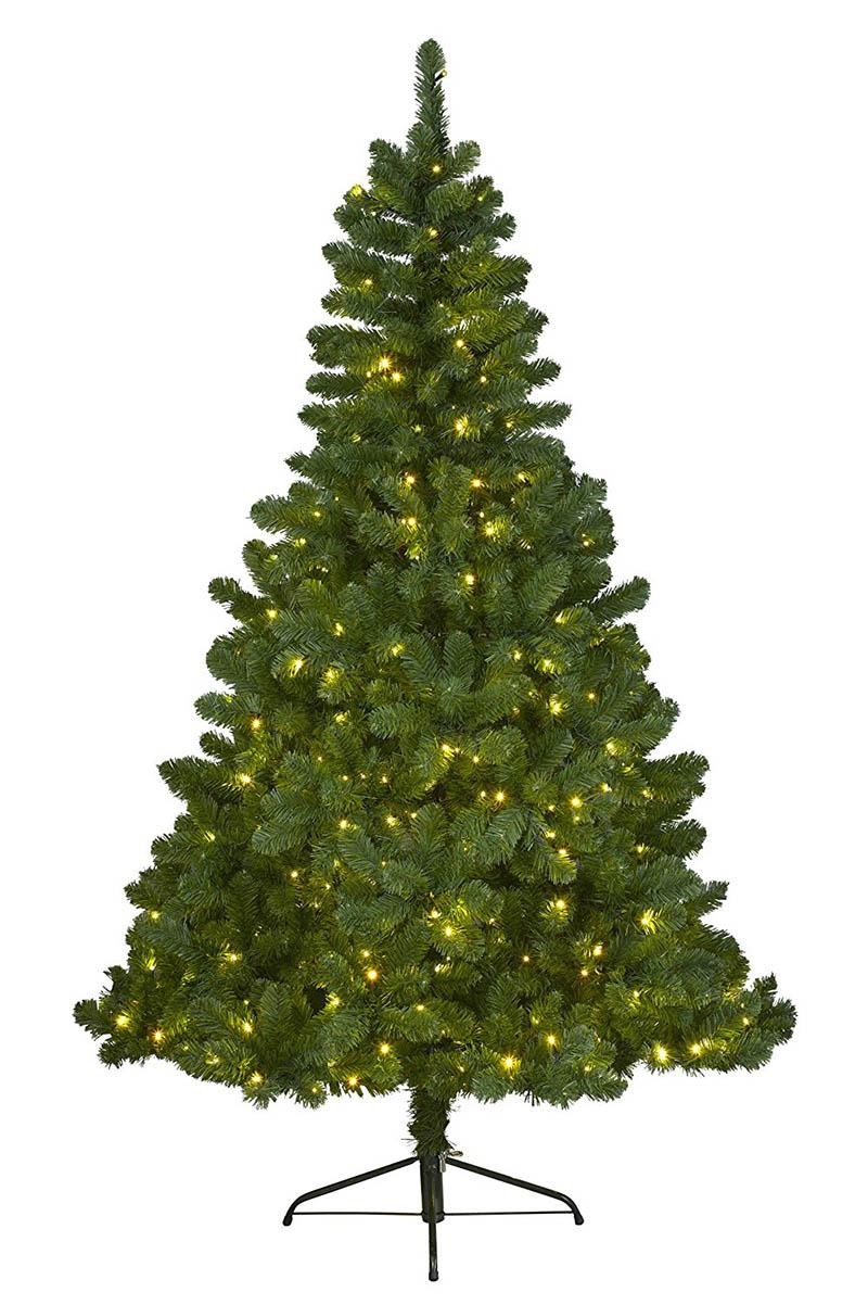 Image of everlands kunstkerstboom Imperial Pine210cm+LEDverlicht 8717427575012
