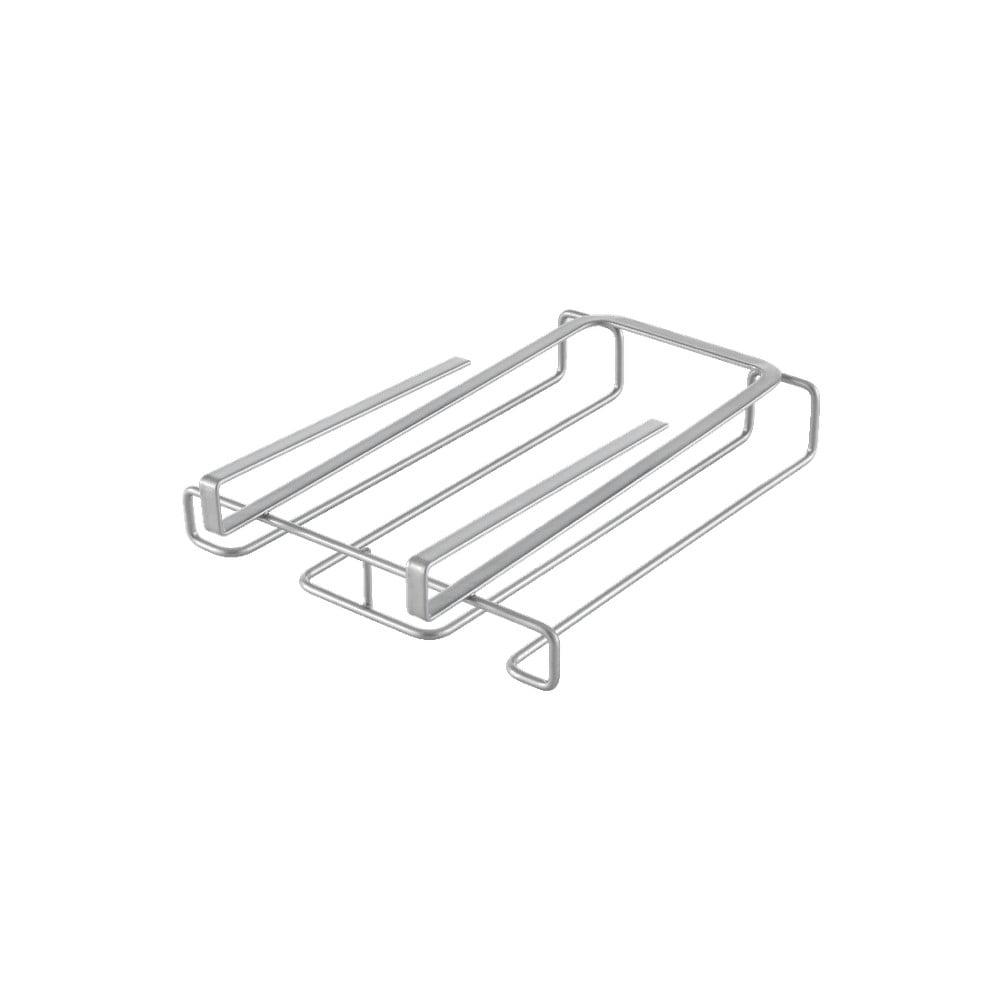 Metaltex glazenrek voor kastplank