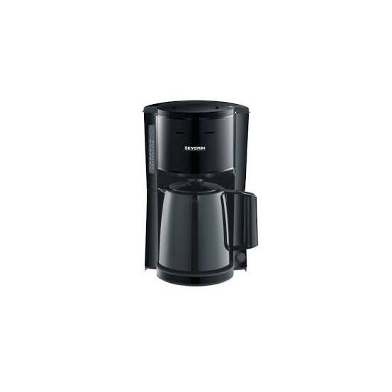 Severin koffiezetter 8 kops zwart