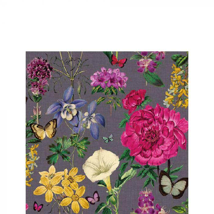 Image of Servet 25cm Botanical Florals Grey 8712159161625