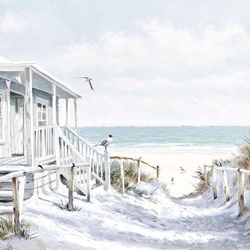 Ambiente Servet 33cm Beach Cabin